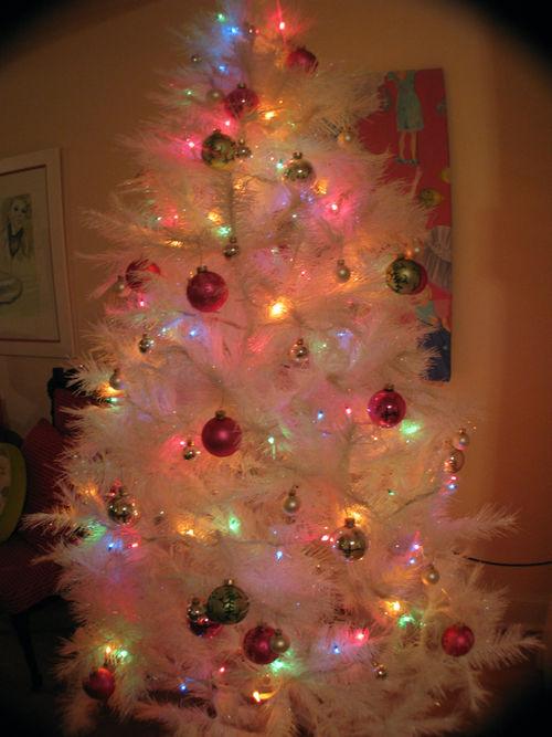 Paintings + Christmas Tree 138