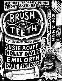 Brush teeth