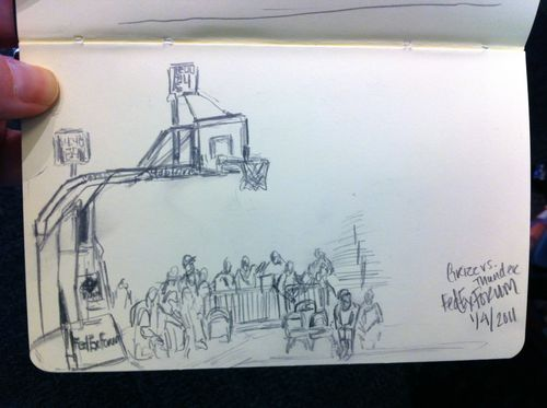 Fed ex forum sketch
