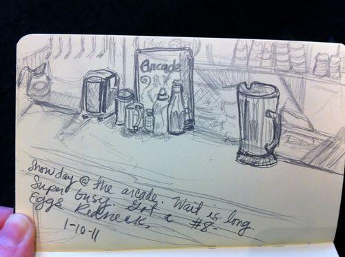 Arcade sketch bar