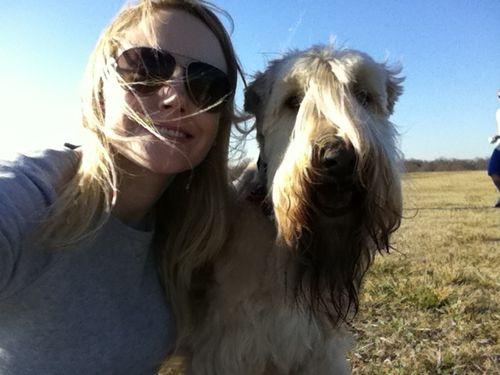 Vera and i at park