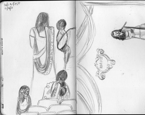 India fest sketch 2