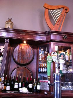 Brass door bar
