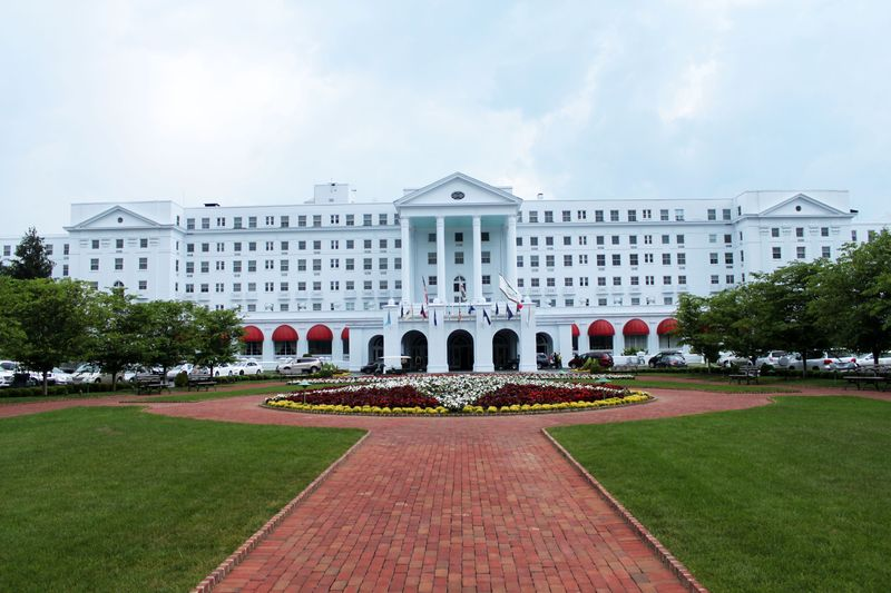 The Greenbrier front