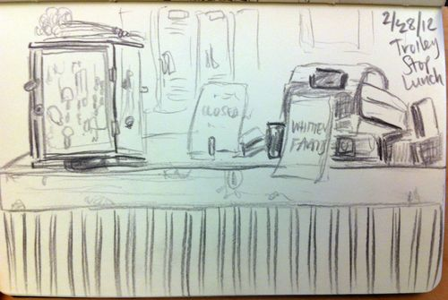 Trolley sketch