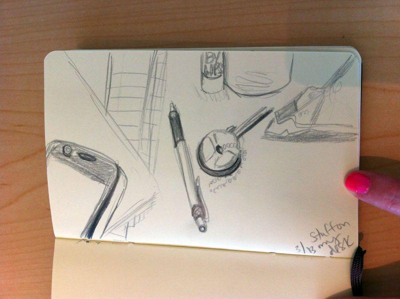 Desk sketch 2