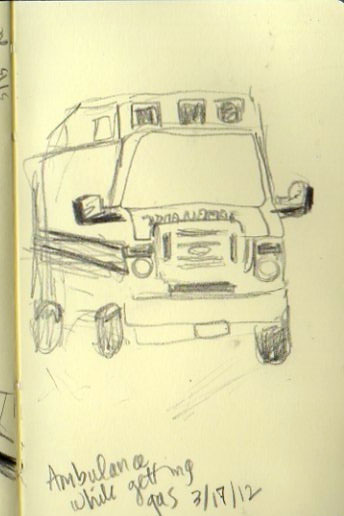 Ambulance sketch