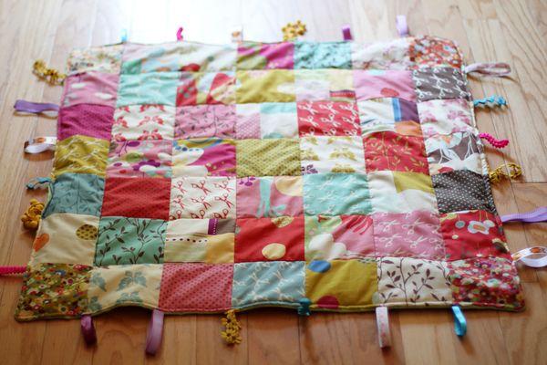 Daily Doily: DIY // Baby Quilt : baby quilt diy - Adamdwight.com