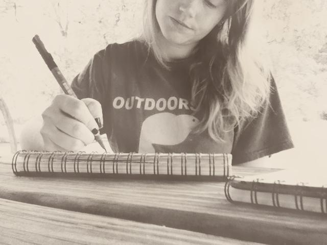Me sketching copy
