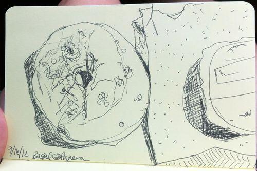 Bagel sketch