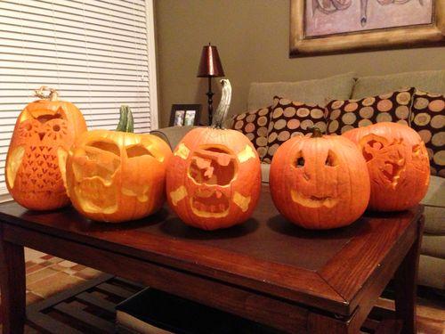 Everyones pumpkins