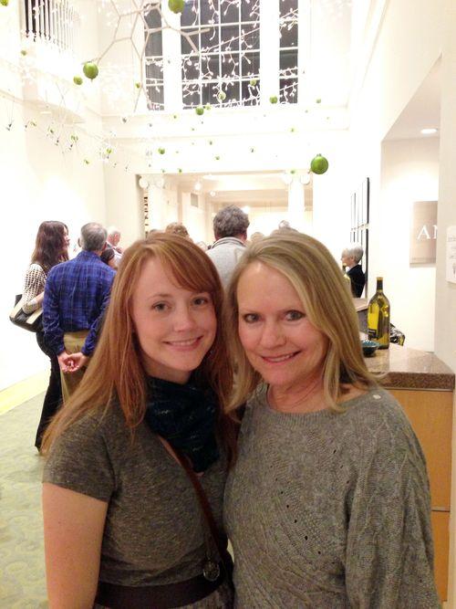 Mom & I at opening